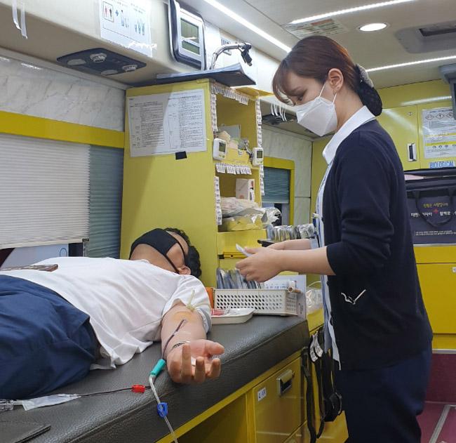 구미시설공단, 사랑의 헌혈 동참