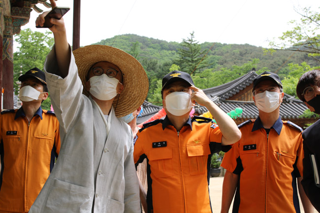 경북소방본부, 봉축행사 특별경계근무 돌입