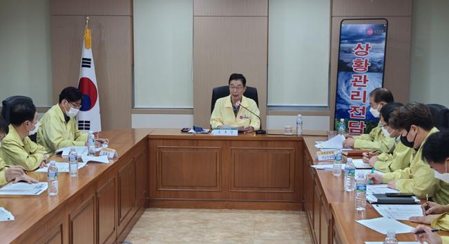 임종식 경북교육감, 집중호우 대처상황 긴급 점검