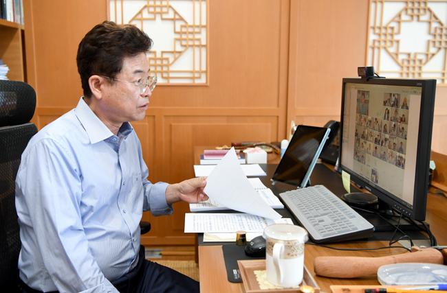 이철우 지사 주재 '2021년 신규시책 보고회' 개최