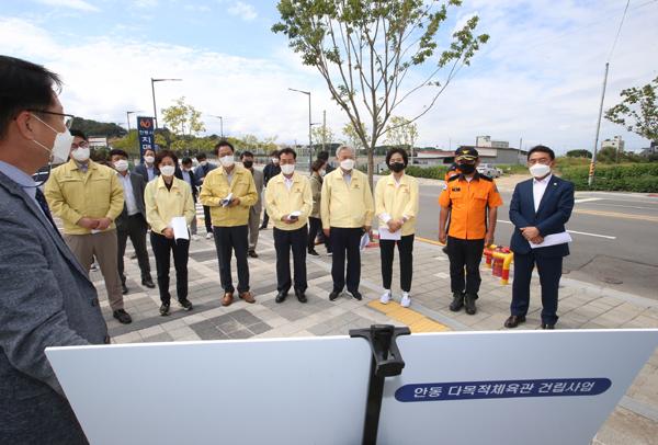 경북도의회 예결특위  주요사업장 현지 확인